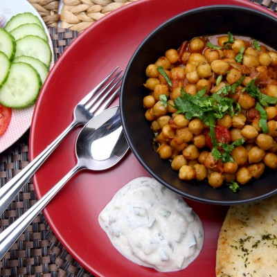 Chana Masala from Ananda's Gourmet