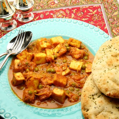 Matar Paneer Masala from Ananda's Gourmet
