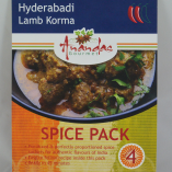 Hyderabadi Lamb Korma Spice Pack