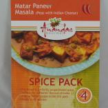 Matar Paneer Masala Spice Pack